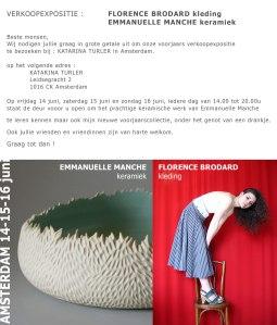 Expo-vente à Amsterdam 14 15 16 juin2013