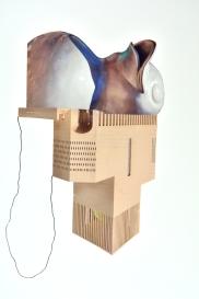 collage sur papier 24x32/2018-18